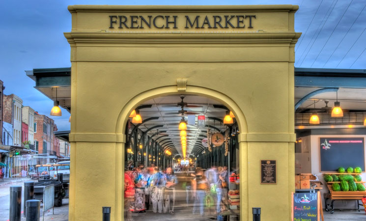 Visit the French Market