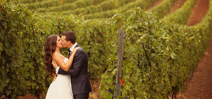 Get married at a vineyard.