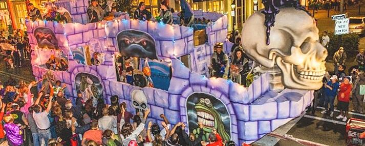 New Orleans Halloween Parade