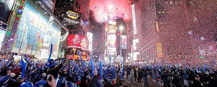 New Years in New York