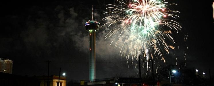 New Years in San Antonio