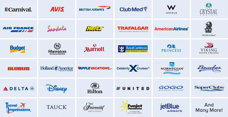 Some of InteleTravel's partners